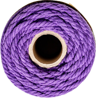 cotton cord purple