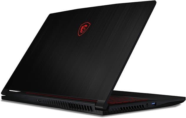 MSI GF63 Thin 10SCXR-042XES: ultrabook gaming de 15.6'', con procesador Core i7 (10ª gen), disco SSD y gráfica GeForce GTX 1650 de 4 GB