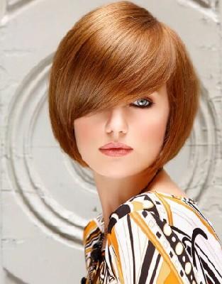 gaya rambut keriting sesuai bentuk wajah