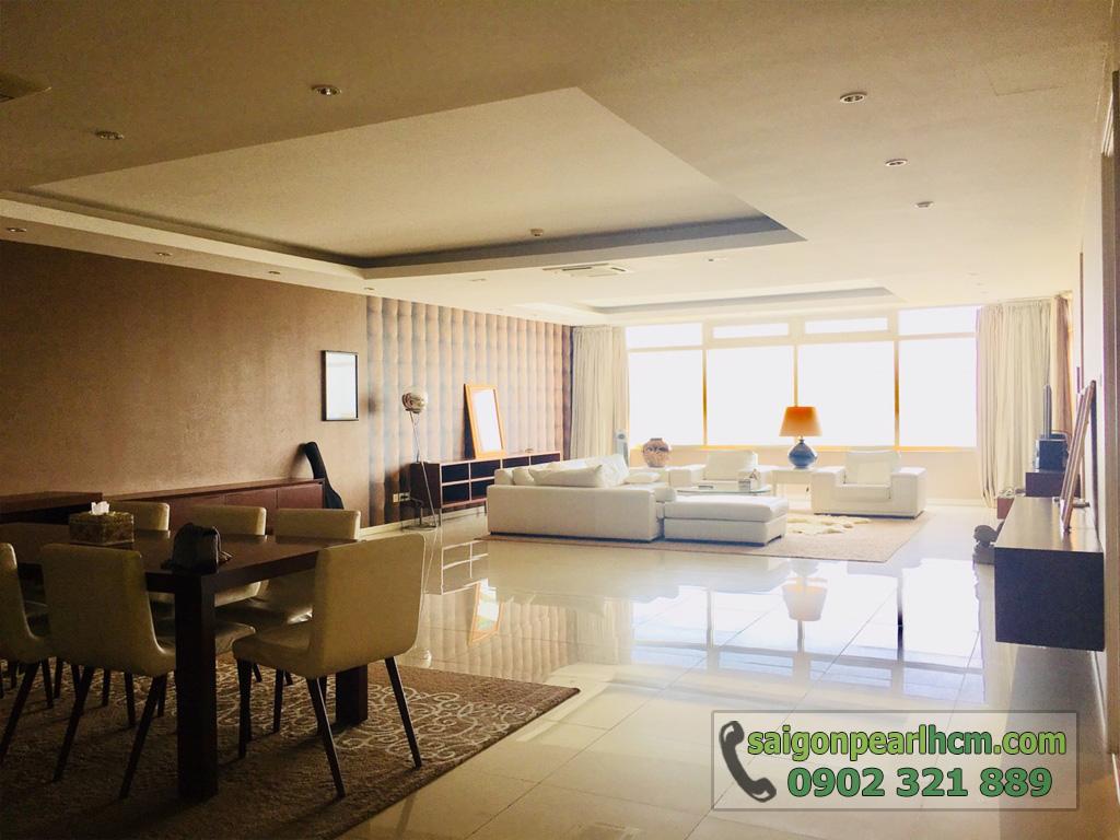 Cho thuê Saigon Pearl căn hộ 4 phòng ngủ 206m2 Ruby 1 view sông Sài Gòn - hình 9