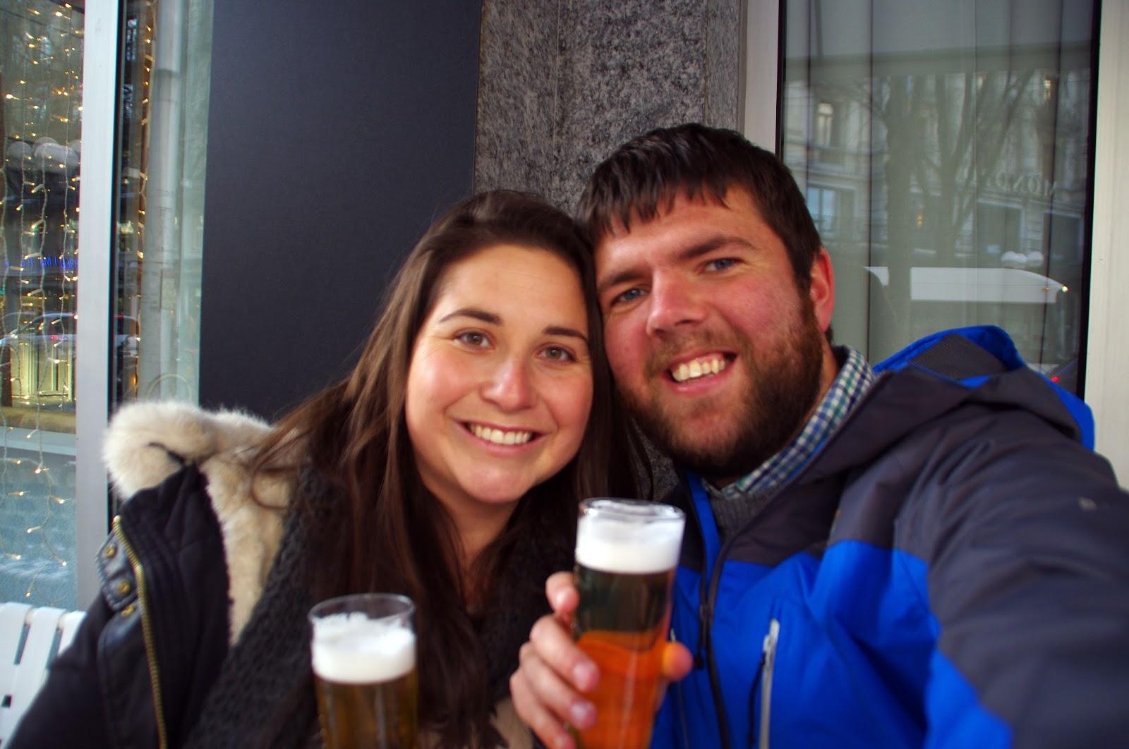 Beers in Lucerne Switzerland