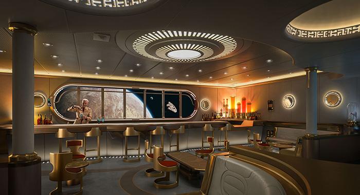 Star Wars en Star Wars: Hyperspace Lounge