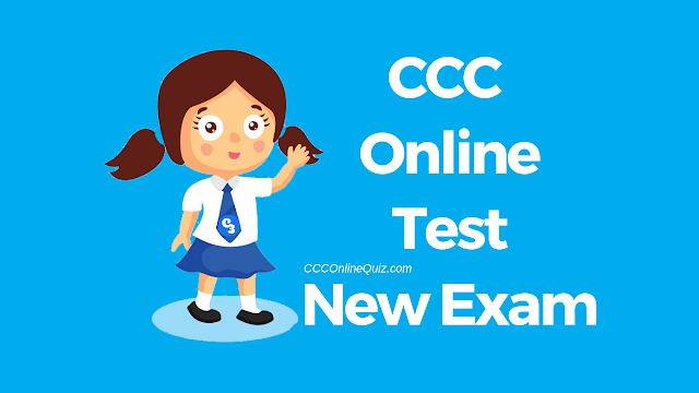 CCC Online Test