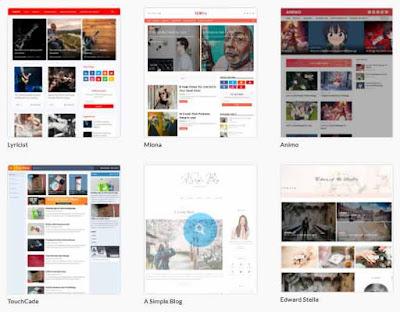 Clean Blogger Templates