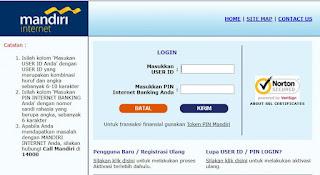 Cara mengatasi Lupa Password M-banking Bank mandiri
