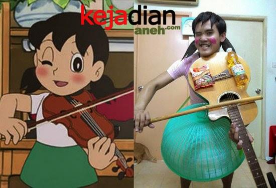 Gambar Meme Lucu Shizuka Doraemon