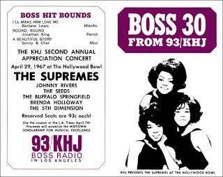 KHJ Boss 30 No. 92 - The Supremes