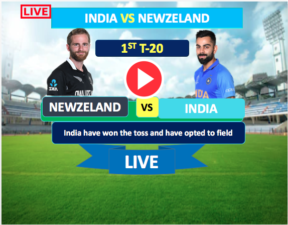 1st T-20  Match :  India vs New Zeland- 24 Jan, India is bowling first