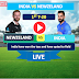 1st T-20  Match :  India vs New Zealand- 24 Jan, India is chasing now