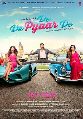 De De Pyaar De 2019 Hindi 720p WEB HDRip 1Gb x264
