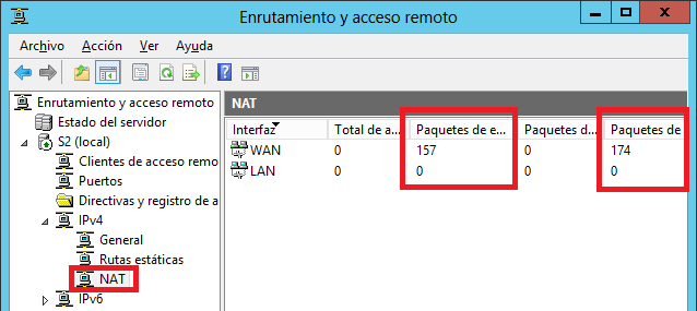 Windows: Server como router