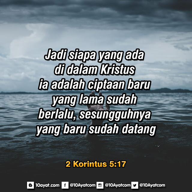 2 Korintus 5:17