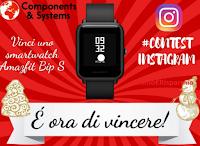 Vinci gratis uno smartwatch Amazfit Bio S Carbon black satellitare (valore euro 83,80)