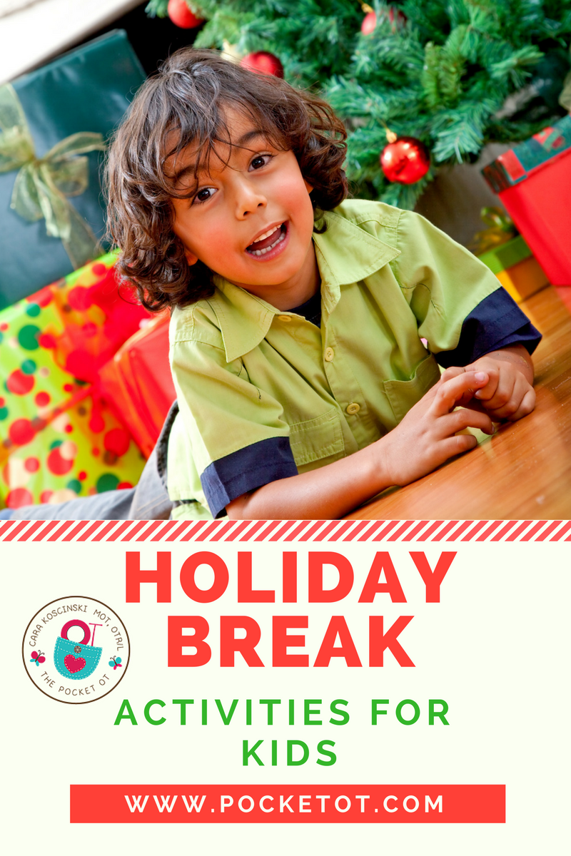 Holiday Break Activities for Kids + FREE Conversation
