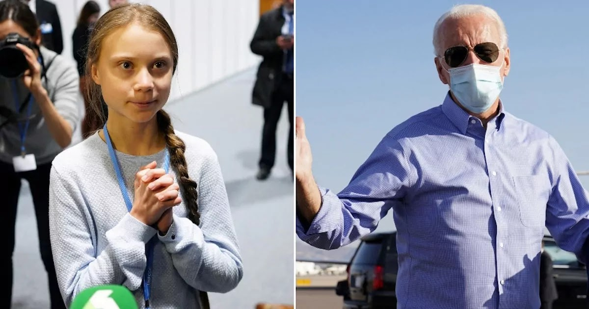 Greta Thunberg Encourages US Voters To Endorse Biden And Kick Trump Out The White House