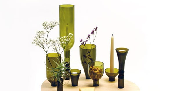 Veronica Aesthetica Fashion For Interiors Recycle Your Wine Bottles