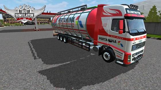 Mod Truck Tangki Volvo FH12