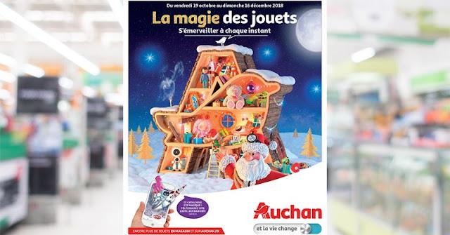 Catalogue Auchan jouet Noel 2018