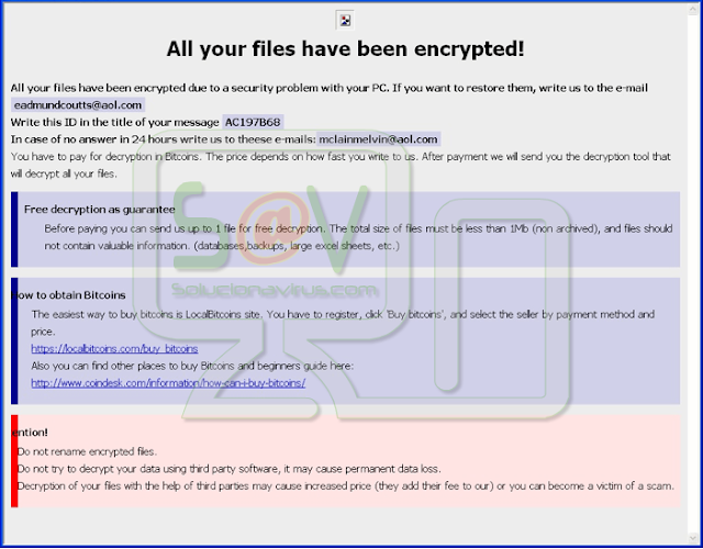 [Cmdroot@airmail.cc].Money (Ransomware)