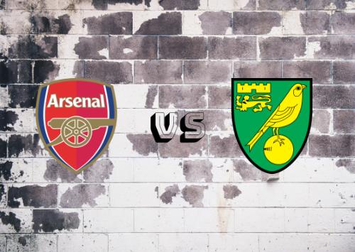 Arsenal vs Norwich City  Resumen y Partido Completo