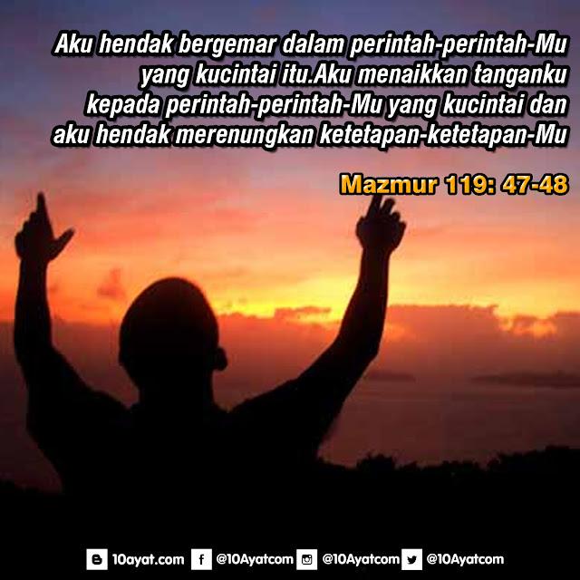 Mazmur 119: 47-48