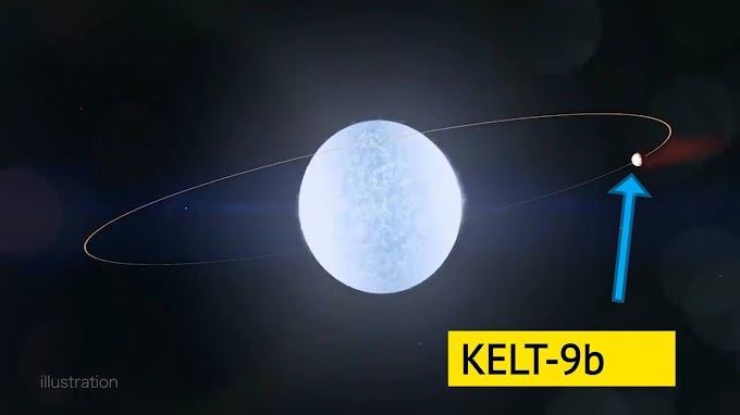 On This Planet Winter Comes Every 9 Hours, Then After 9 Hours Summer |  KELT-9 b