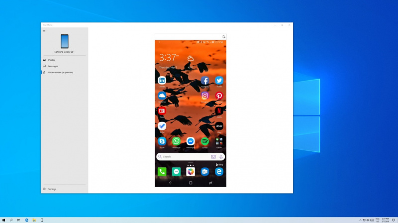 Notifikasi android di windows 10