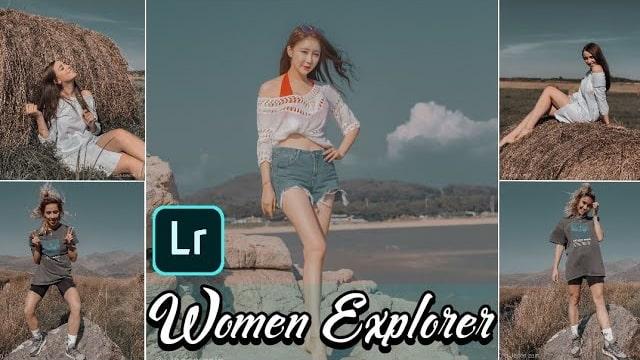 Women Explorer Presets Free Download