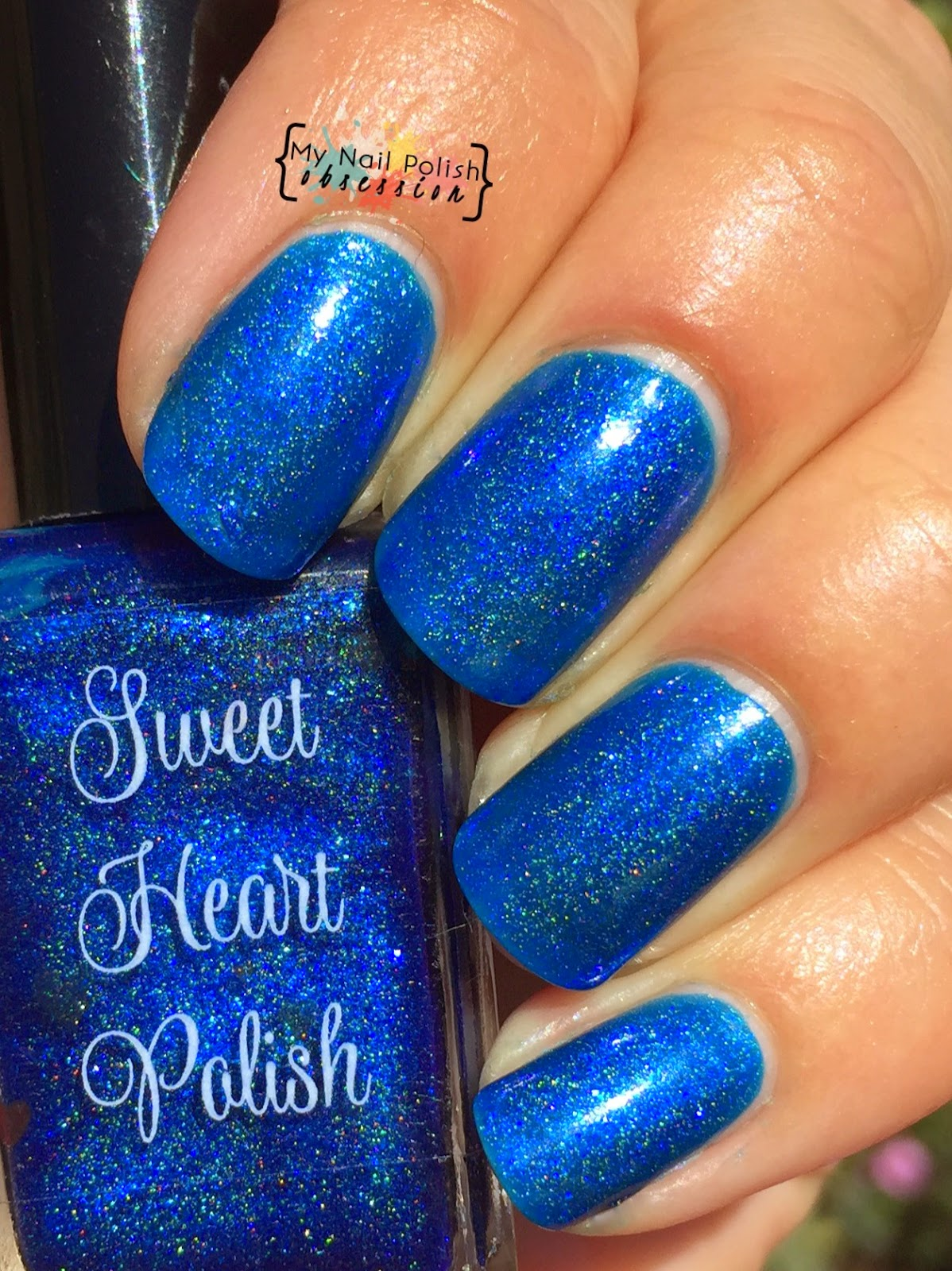 Addicted to Holos Indie Box Sweet Heart Polish April Showers