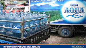 Lowonga Kerja PT. Tirta Varia Intipratama (Distributor Aqua)