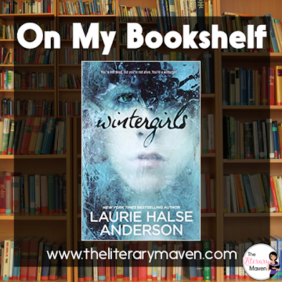The main characters in Wintergirls by Laurie Halse Anderson suffer from two different eating disorders, anorexia and bulimia, as well as depression and cutting. The depiction of both girls and the diseases they struggle with was incredibly realistic and accurate. It's not a book for the faint hearted as it takes you inside the mind of Lia (anorexic) and she struggles with the death of her former best friend, Cassie (bulimic). Read on for more of my review and ideas for classroom application.