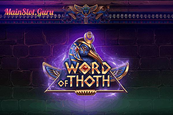 Main Gratis Slot Demo Word Of Thoth Yggdrasil