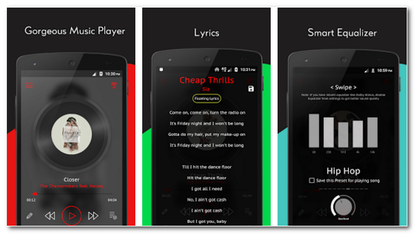 Crimson Music Player Pro Apk - Andro Ricky