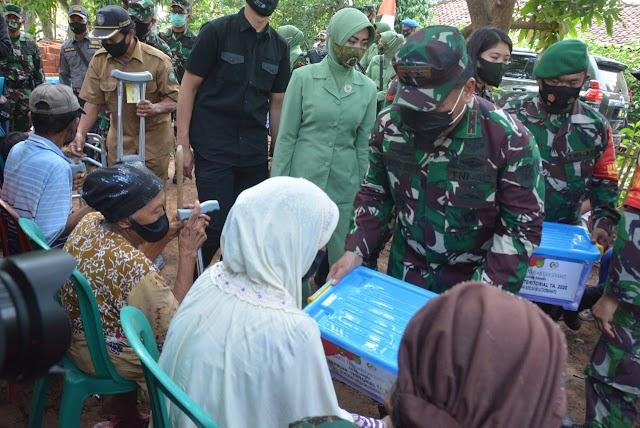 Pangdam III/Siliwangi Buka Karya Bhakti TNI Membangun Negeri Di Indramayu