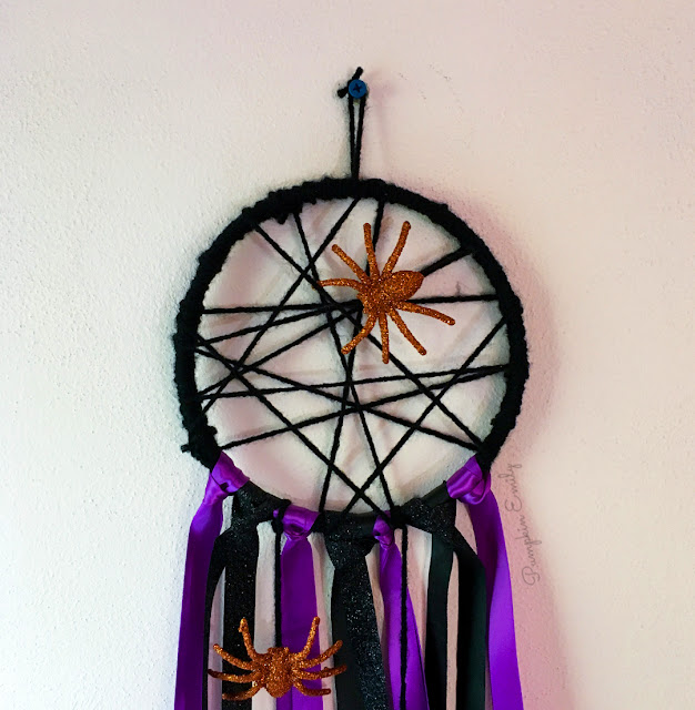 DIY Spider Web Dreamcatcher