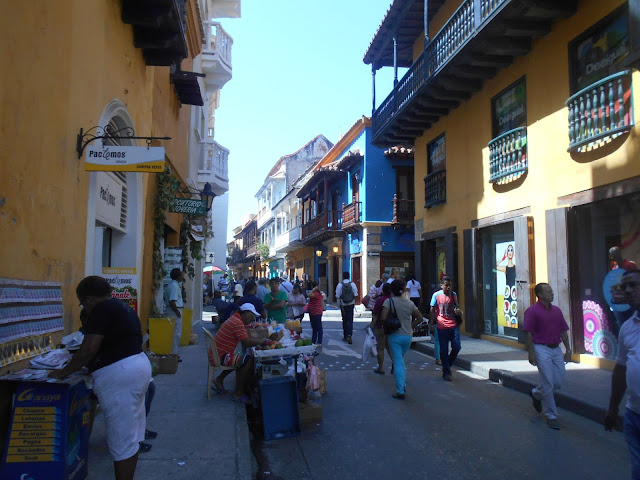 The streets of Getsemani