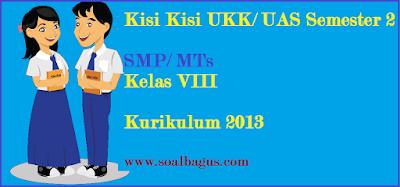 Download kisi kisi penulisan soal ukk/ uas pkn kls 8 semester 2/ genap sesuai dengan kurikulum 2013 tahun 2017