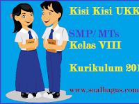 Kisi Kisi UKK PKn Kelas 8 SMP/ MTs Kurikulum 2013