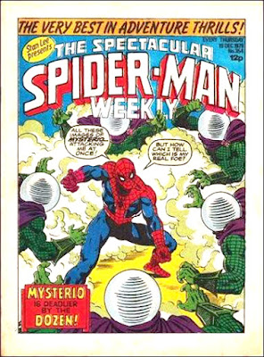 Spectacular Spider-Man Weekly #354, Mysterio