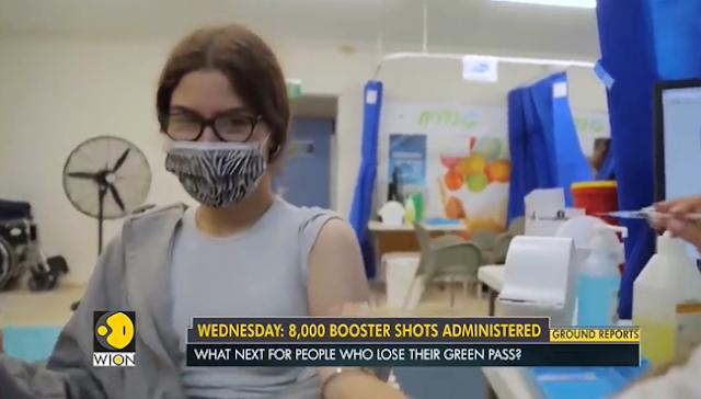 Több mint egymillió izraeli veszíti el a zöld igazolványát!  Jelenleg 400 kovidos beteg fekszik az intenzív osztályokon súlyos kórlefolyással.