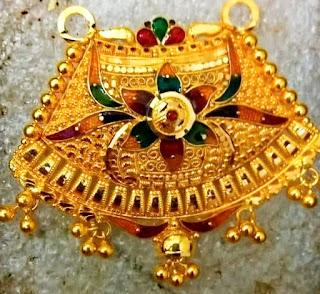 Rajasthani Mangalsutra Latest Design jewelry Fdbnj