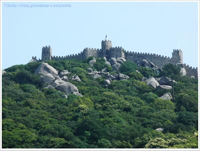 Castelo dos Mouros; Castelo Medieval; Portugal; sem guia; Europa; Turismo; Sintra