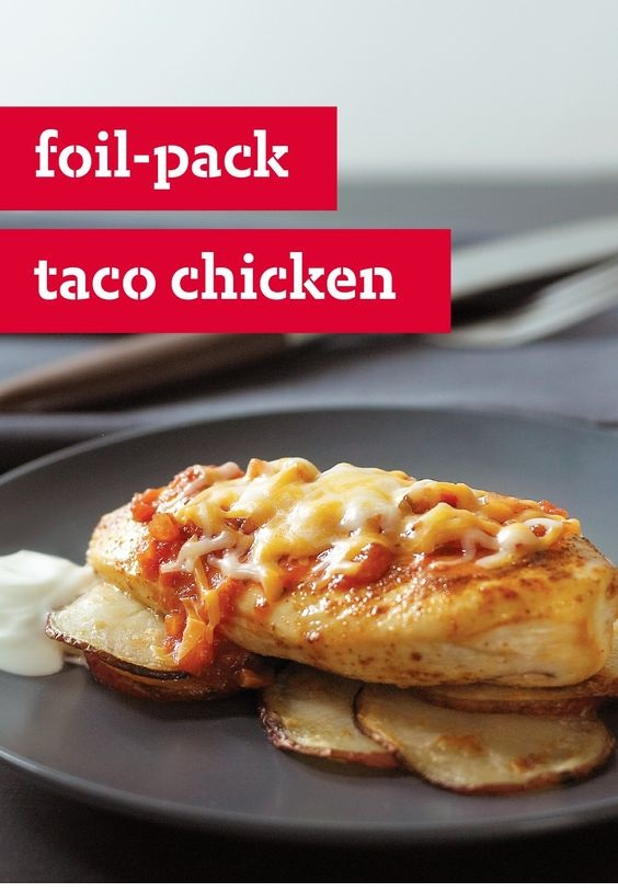 Foil-Pack Taco Chicken