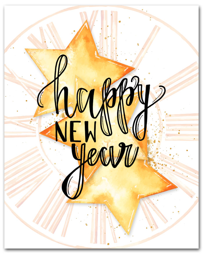 Free Printables for New Years