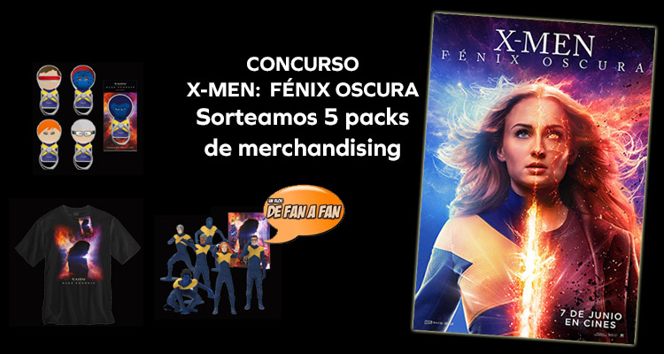 Concurso X-Men: Fénix Oscura ¡Regalamos cinco packs de merchandising!