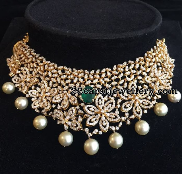15 Lakhs Grand Diamond Choker