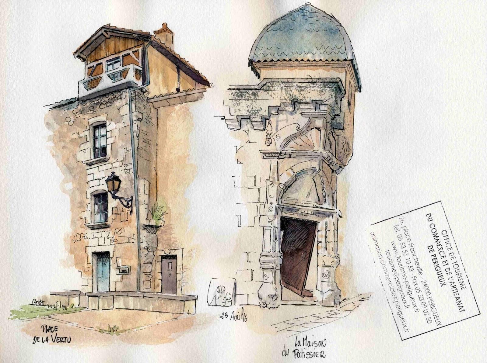 Cours De Dessin Montbéliard urban sketchers france: avril 2016