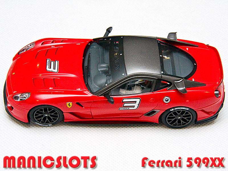 manicslots 39 slot cars and scenery gallery ferrari 599xx. Black Bedroom Furniture Sets. Home Design Ideas
