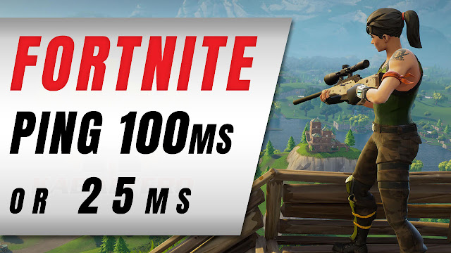 Fortnite Says 100 ms, WTFAST Says 25 ms! Which One Is The Correct Ping!