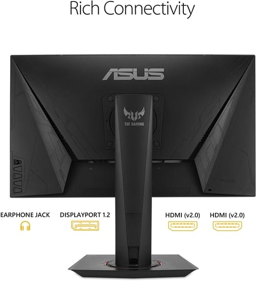 Review ASUS VG259QM TUF Gaming Full HD Monitor